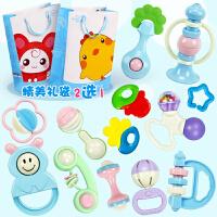 新生儿幼儿手摇铃婴儿玩具0-3-6-12个月宝宝男女孩8益智牙胶1岁5