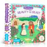 英文原版进口童书First Stories: Beauty and the Beast 美女与野兽 机关操作活动玩具纸