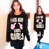 韩版睡衣女秋长袖卡通家居服套装可爱女生休闲两件套春