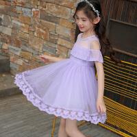 女童公主裙夏装新款夏季韩版连衣裙大童儿童装洋气蓬蓬纱裙子