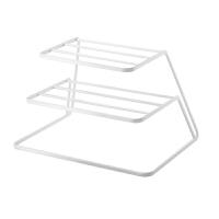 厨房碗碟架沥水架三层碗碟收纳架碟架盘碟架碗架橱柜分层置物架
