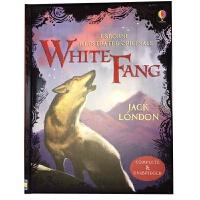 White Fang 英文原版 Usborne经典儿童文学系列:白牙 杰克・伦敦 原文无删减 全彩插图版 精装