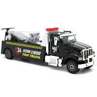 合金工程车模交通拯救车1 50事故处理车汽车模型 道路拯救者 625132 黑