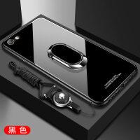 优品iphone6玻璃手机壳6plus硅胶i6玻璃保护ip套苹果6s六全包防摔sp男女款6sp个性创