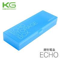 KACO笔盒磨砂PP半透明塑料儿童铅笔盒男女小学生简约风文具盒