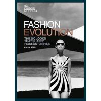 英文原版 时尚进化:塑造现代时尚的250款造型艺术书 The Design Museum:Fashion Evoluti