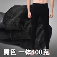 男士秋裤秋冬季加厚保暖裤男修身单件打底裤加绒裤羊毛裤内裤