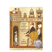 英文原版A Visit to William Blake's Inn [平装] [4-8]