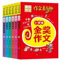 全6册 作文真有趣小学生黄冈作文优秀作文/小学生作文指导 小学生作文书1-3年级 3-6年级作文大全