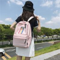 女士背包小背包尼龙双肩包包包女 韩版新品书包女中学生校园双肩背包女孩小学生书包百搭清新休闲包