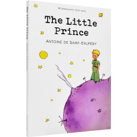 现货英文原版书 小王子 The Little Prince 经典名著故事系列 经典童话珍藏纪念进口正版书儿童绘本 成人与