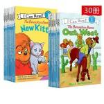 (198减40)【L1 27册】berenstain bears 贝贝熊 系列 I can read 英文原版儿童分级