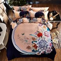 磨毛床上用品四件套1.8m加厚床单被套1.5米双人2.0秋冬季