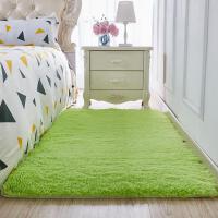 加厚冬季毯子清新毛毛毛毯地垫卧室铺满新款保温时尚躺垫防滑午睡