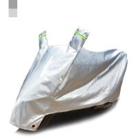 踏板摩托车车罩电动车电瓶防雨防晒罩车衣套遮阳盖布加厚防尘罩子 X