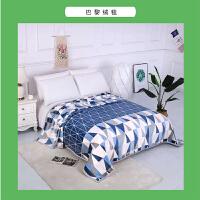 木偶奇遇MO062新品盖毯垫绒毯子午睡毛毯法兰绒毛巾小被子夏季薄款