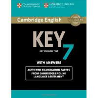 【预订】Cambridge English Key 7 Student's Book with Answers: Au