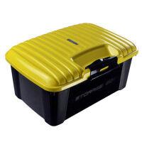 专用于凯迪拉克XT5 XTS CT6 SRX ATSL后备箱储物盒车载杂物置物箱SN4965 30L 超大容量【亮黄色