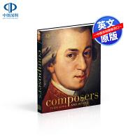 英文原版 伟大的作曲家:他们的生平和作品 Composers : Their Lives and Works DK古典音