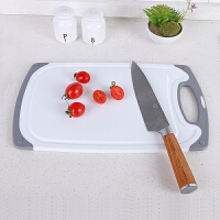当当优品 加厚防滑塑料菜板 包边长方形水果