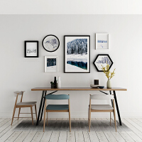 照片墙相框墙装饰画相框现代简约客厅沙发背景墙创意挂墙组合相片墙