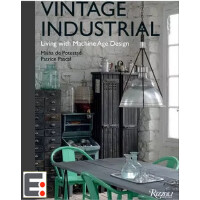 复古工业:机器时代的生活设计 椅子 桌子产品作品书籍 Vintage Industria