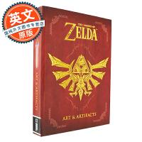 The Legend of Zelda: Art & Artifacts 塞尔达传说: 艺术与物品道具设定【英文原版