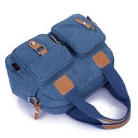 2018新款韩版潮小包包帆布包女手提包单肩包斜挎包复古女包旅行包