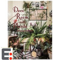 Deco Room with Plants here and there 与植物一起生活 川本�I 日本语艺术生活图书籍