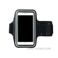 苹果8运动臂带可触屏听歌iPhone7plus通用跑步6s手机包8p潮男女款 6代/7代 小屏 黑色