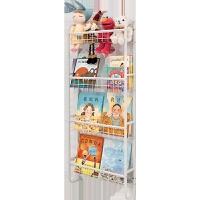 儿童书架绘本架家用壁挂省空间置物架简约宝宝超薄铁艺挂墙书架子