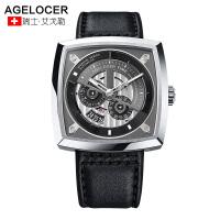 Agelocer艾戈勒瑞士手表大表盘男士腕表全自动机械表大爆炸系列