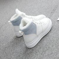雪地靴女2018新款韩版短筒百搭学生短靴冬季保暖加绒厚底防滑棉鞋