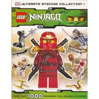 LEGO・ Ninjago Ultimate Sticker Collection乐高系列:幻影忍者贴纸集 ISBN9