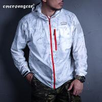 爱默生EmersongearS夏季男士皮肤衣宽松迷彩防紫外线薄外套