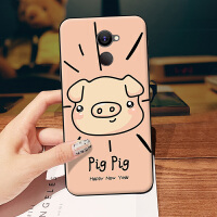 红米note3手机壳红迷note3保护套xiaomi硅胶redminote3软noet3可爱neto 粉色猪头