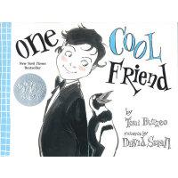 One Cool Friend [Hardcover] 一个很酷的朋友(2013年凯迪克银奖绘本,精装) ISBN978