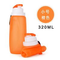 户外便携运动水袋大容量杯茶壶软水瓶硅胶折叠水壶