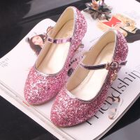 儿童公主鞋韩版女童高跟皮鞋春秋季新款儿童单鞋小孩子演出鞋