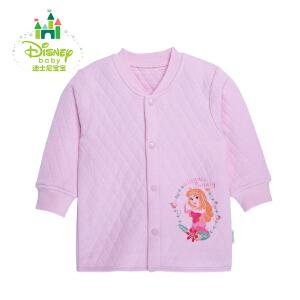 迪士尼Disney婴儿服冬季保暖加厚前开扣上衣154S676