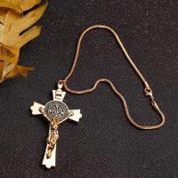 耶�d十字架合金汽��旒� ����意平安�祜� 后��R��d�旒� 汽�用品 十字架·金色