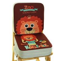 20191208214324366卡通儿童餐椅增高坐垫小学生坐垫宝宝安全椅垫座椅加厚加高椅子垫 39X39cm