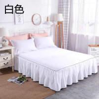 全棉床裙订做单件1.8米床罩纯棉双人床单席梦思床垫保护床套单人