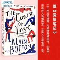 【现货】英文原版 Alain de Botton: The Course of Love 阿兰・德波顿:爱的进化论(爱