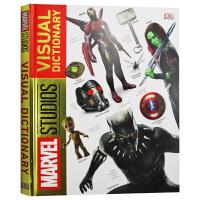 DK漫威视觉图解字典 英文原版 Marvel Studios Visual Dictionary 漫威周边影视辞典 斯