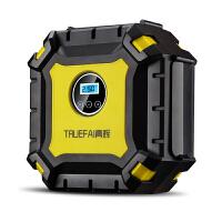 车载充气泵汽车轮胎打气泵12V便携式轿车用电动打气筒多功能加气