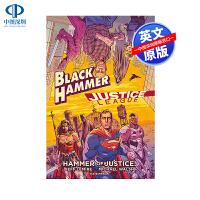 英文原版 黑锤 正义联盟:正义之锤 DC黑马漫画联动 精装 Black Hammer/Justice League: H