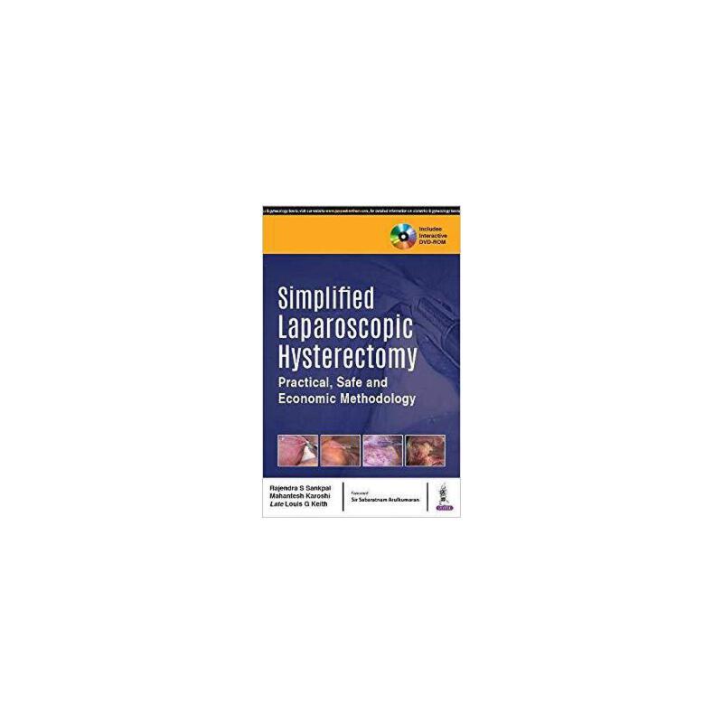 【预订】Simplified Laparoscopic Hysterectomy 9789352703906 美国库房发货,通常付款后3-5周到货!