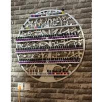 墙上挂壁美甲店货架展示架放指甲油胶架子置物架化妆品美甲壁挂