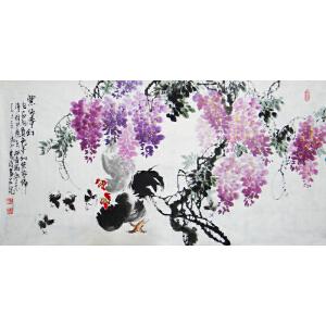 省美协   杨成功    紫依梦幻